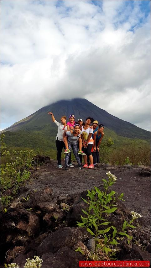 Arenal volcano fun